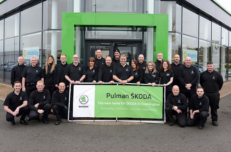 Pulman SKODA Cramlington team formerly Silbury SKODA