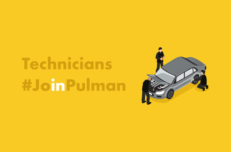 Technicians at Pulman