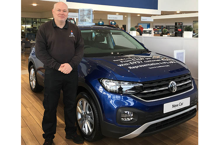 George Kenny from Pulman Volkswagen