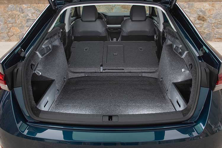 boot space - skoda octavia
