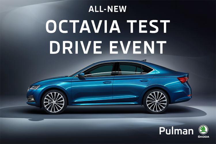 new Octavia test drive event at Pulman SKODA